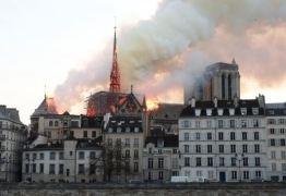 Notre-Dame: polícia acha bitucas em andaimes onde começou fogo