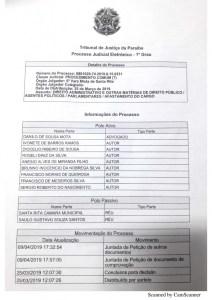 santarita 1 212x300 - Vereadores pedem na justiça afastamento de presidente da Câmara de Santa Rita
