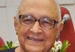 Professor Vicente Nóbrega morre aos 89 anos em hospital de João Pessoa