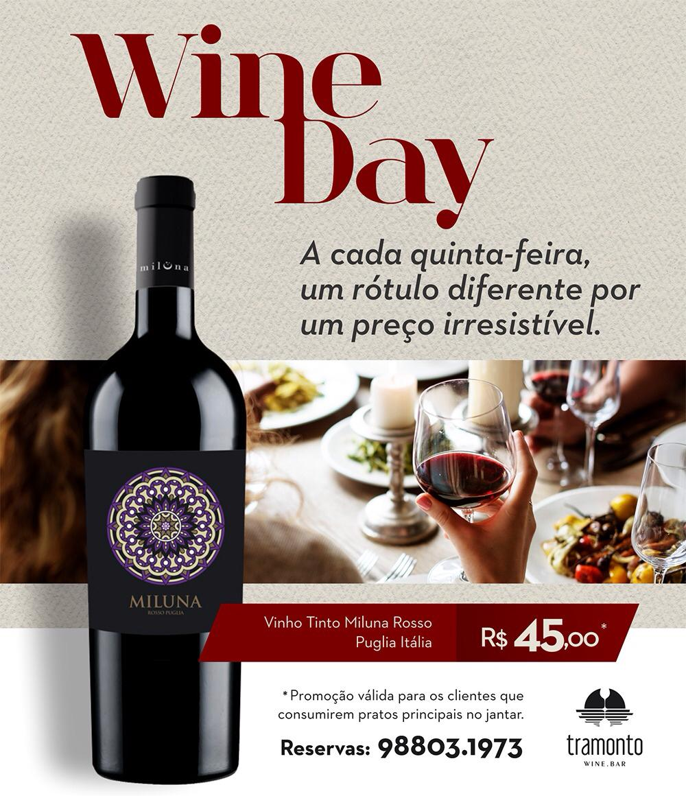 wine day 1 - Tramonto terá especial de Beatles e Michael Jackson neste fim de semana