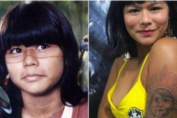 x1555881650894029.JPG.pagespeed.ic .k1Bu4EXQ6q - Atriz de 'Tainá' se formou em moda e lança marca com arte indígena