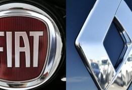 Fusão entre Fiat e Renault pode formar o maior grupo do Brasil em vendas com 26% do mercado