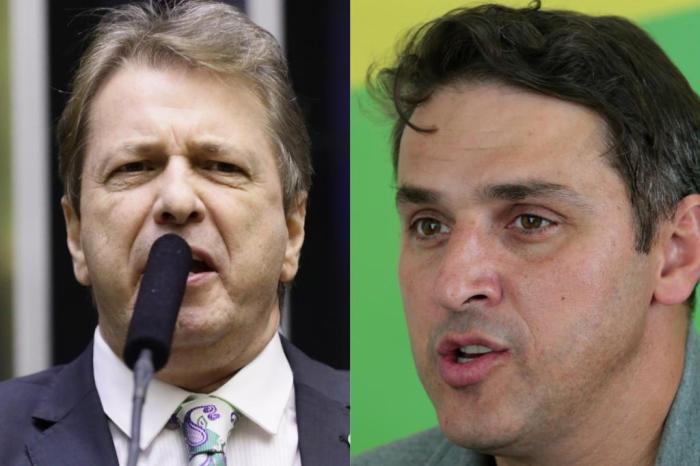 25238040 - Aliados de Bolsonaro e Mourão criam racha durante eleição para presidência do PSL - OUÇA