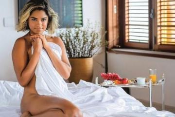 27d5f9e66ef599dd2b8207360a997d79 - Paraibana Lucy Alves posa nua e sem modéstia diz se achar bem bonita