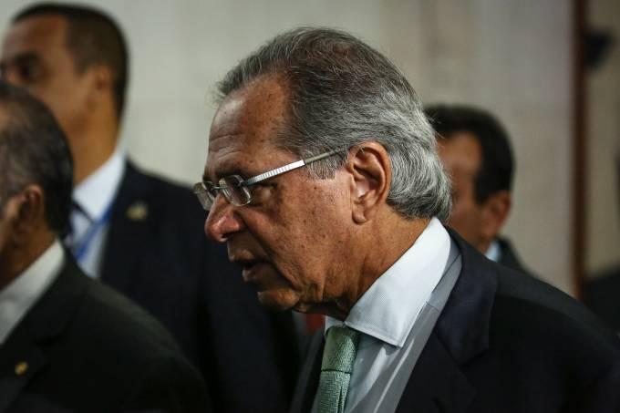 """334813459 1 3 - Paulo Guedes diz que renuncia se Previdência virar """"reforminha"""""""