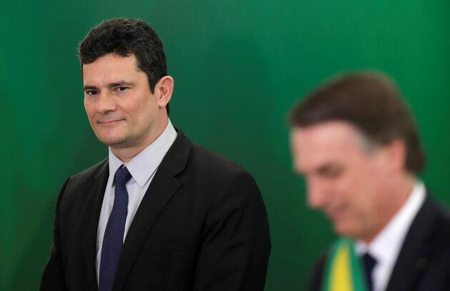 5cd97bb82100003100d0663a - Moro contraria Bolsonaro e diz que não estabeleceu condição para assumir ministério