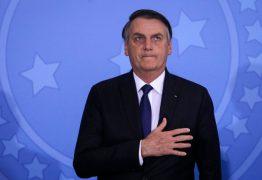 Bolsonaro não participa, mas celebra atos com imagens de várias cidades