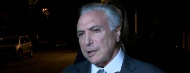 Capturar 10 - DE VOLTA PARA PRISÃO: Temer diz que irá se apresentar 'voluntariamente' à Justiça nesta quinta-feira
