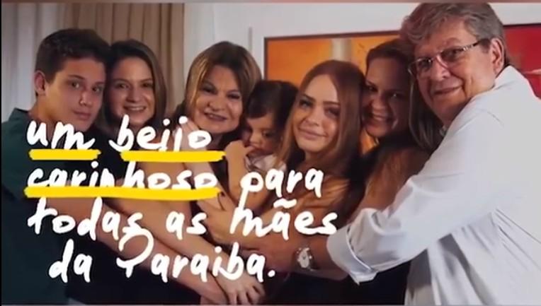 Capturar 28 - João Azevêdo fala da saudade da mãe e homenageia esposa - VEJA VÍDEO