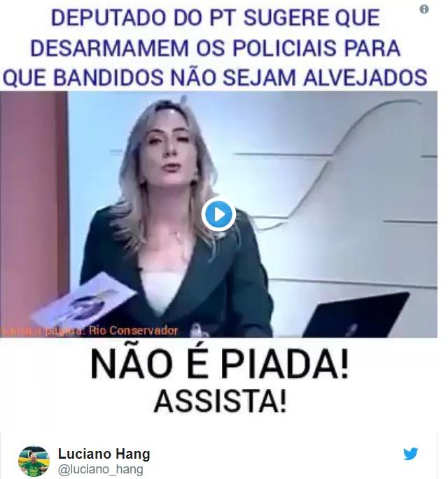 """Capturar 32 - Luciano Hang tuíta fake news sobre """"deputado do PT"""" e vira piada nas redes sociais"""