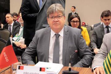 JOAO FORUM GOVERNADORES - Governador da Paraíba, João Azevêdo participa hoje de encontro com presidente Jair Bolsonaro