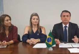 Em live de Bolsonaro, mulheres do PSL falam por 5 minutos e são interrompidas 7 vezes