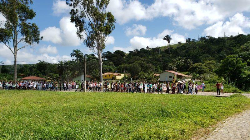 Protesto Bananeiras - PARAÍBA PELA EDUCAÇÃO: Estudantes, professores e funcionários protestam contra corte no orçamento das instituições federais