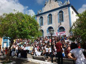 Protesto em Areia 300x225 - PARAÍBA PELA EDUCAÇÃO: Estudantes, professores e funcionários protestam contra corte no orçamento das instituições federais