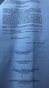 WhatsApp Image 2019 05 15 at 12.27.14 169x300 - SEGUNDO ROUND: Facene/Famene é denunciada à Procuradoria Geral da República - Veja documento