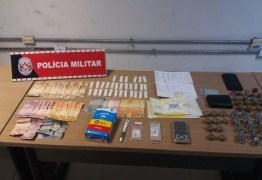 Foragidos da justiça são presos e suspeito de tráfico de drogas é detido em João Pessoa