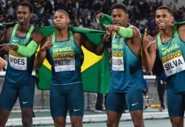 Brasil surpreende e vence os EUA em final de revezamento 4x100m