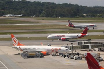 aviões - Senado aprova capital estrangeiro em aéreas e volta de mala grátis