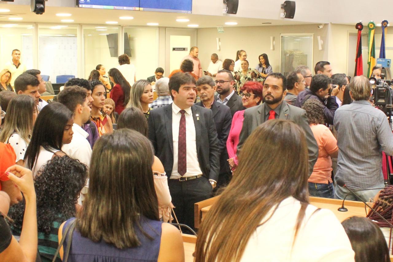 b159bdef 16c2 4698 a529 3f633de23ff7 - Deputado Eduardo Carneiro recebe estudantes do curso de Direito da Uninassau na Assembleia Legislativa