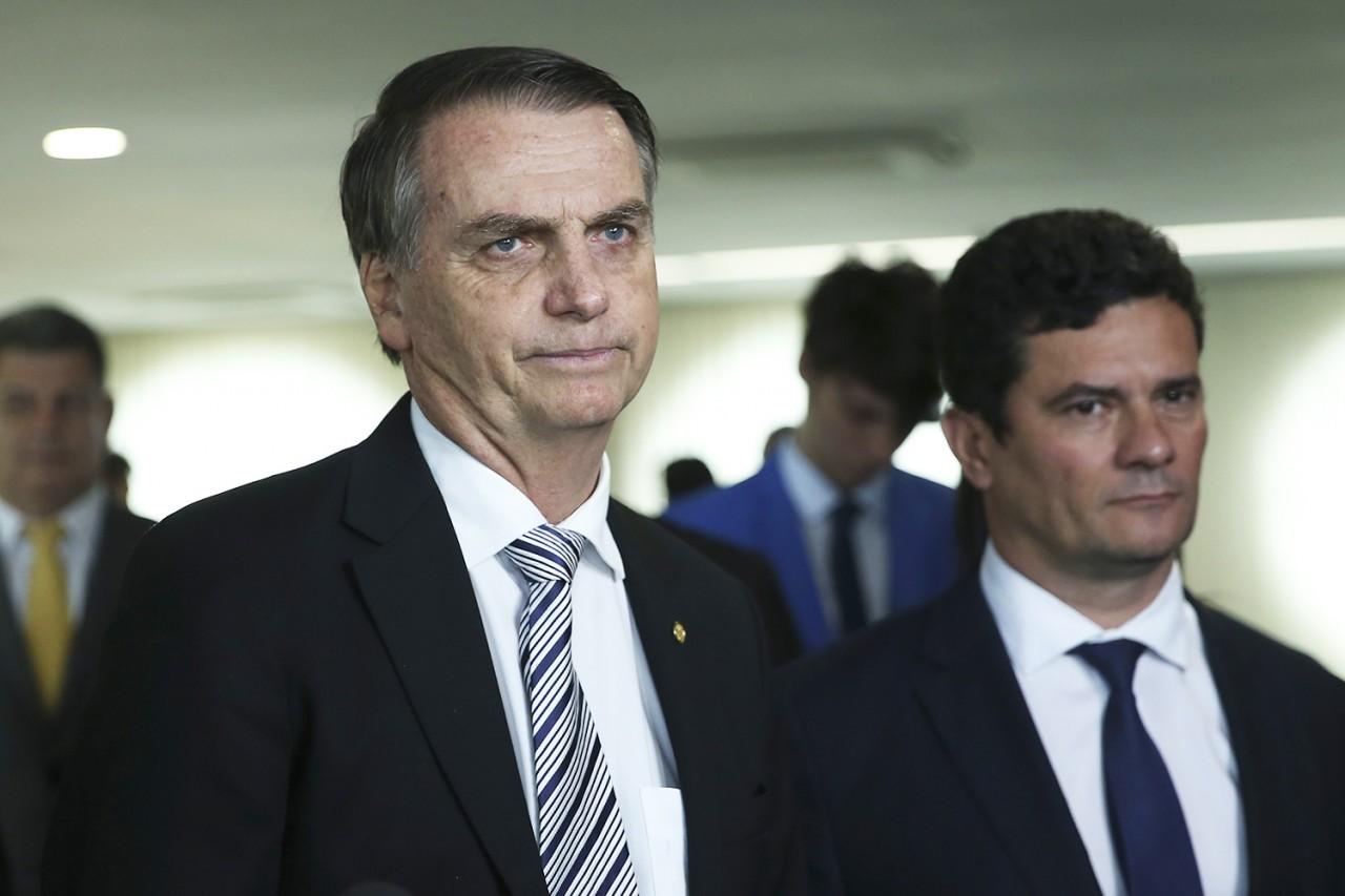 brasil bolsonaro coletiva 20181107 003 copy - 'Não precisa seguir os caminhos tortos do governo': Folha sugere que Moro peça demissão e abandone Bolsonaro