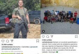 Carlos Bolsonaro esteve em clube de tiro no mesmo período que Adélio, diz site