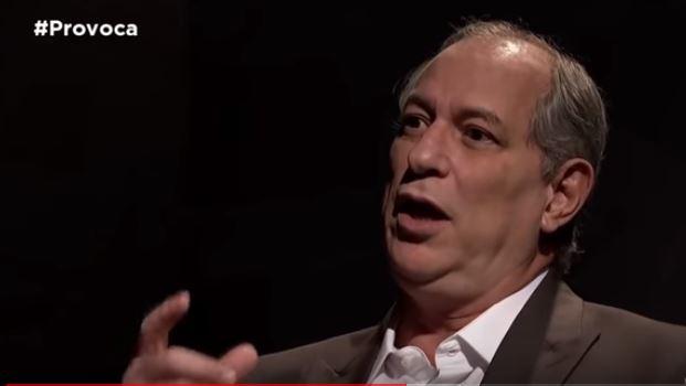 ciro gomes entrevista tv cultura - 'ENGANADOR PROFISSIONAL': Durante entrevista Ciro Gomes define ex-presidente Lula como 'defunto político' - VEJA VÍDEO