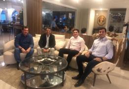 Romero recebe Hugo Motta e reforça parceria política com o PRB em Campina Grande