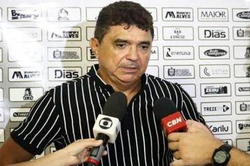 flavio araujo - Flávio Araújo sinaliza alterações no time do Treze: 'Temos que começar a fazer mudanças'
