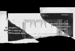 ESTUDO SOBRE DROGAS: veja o relatório que os Governos Temer e Bolsonaro escondem sobre dependentes químicos no Brasil