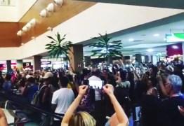NINJA NA REDE: presidente do PT da Paraíba destaca 'Lulaço' no Manaíra Shopping, em JP/PB
