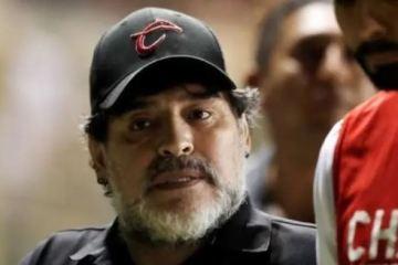 maradona - Diego Maradona foi preso na Argentina