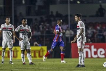 mig0031 - Falta de efetividade em jogos decisivos volta a assombrar São Paulo em semana importante