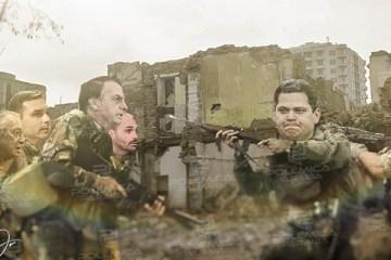 montagem471 - ENTRE A CRUZ E A ESPADA: O Brasil dividido entre o antropofagismo do centrão e o despreparo de Bolsonaro - Por Anderson Costa