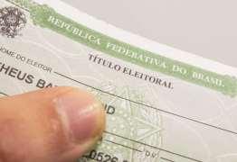 Prazo para regularizar título de eleitor termina na segunda