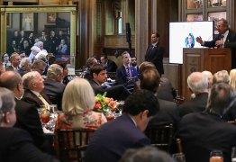 Nos EUA, Guedes fala em fusão entre Banco do Brasil e Bank of America – VEJA VÍDEO