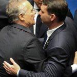 renan e flavio bolsonaro - No novo Senado, um em cada três senadores responde a acusações criminais