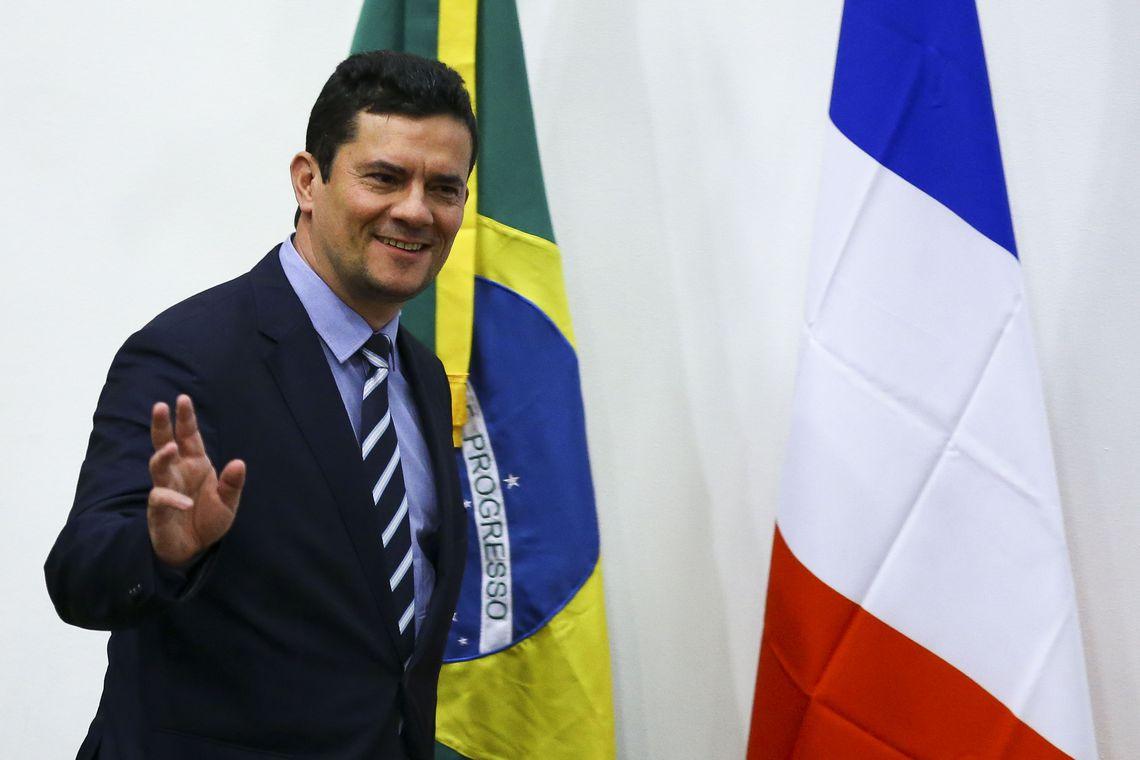 sérgio moro ministro justiça - Sérgio Moro promete criação de Medida Provisória para facilitar venda de bens tomados do tráfico