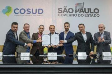 sao paulo   governador participa do segundo encontro do cosud 20190427 1741397638 - Governadores do Sul e Sudeste declaram apoio integral à Reforma da Previdência