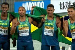 selecao atletismo 300x200 - ATLETISMO: Brasil é campeão mundial do revezamento 4x100 no Japão