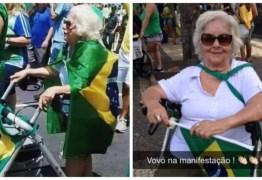 Bolsonaro publica foto de idosa que faleceu ano passado como se fosse das manifestações desse domingo – CONFIRA