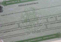 Mais de 15,5 mil títulos eleitorais são cancelados na Paraíba, diz TSE