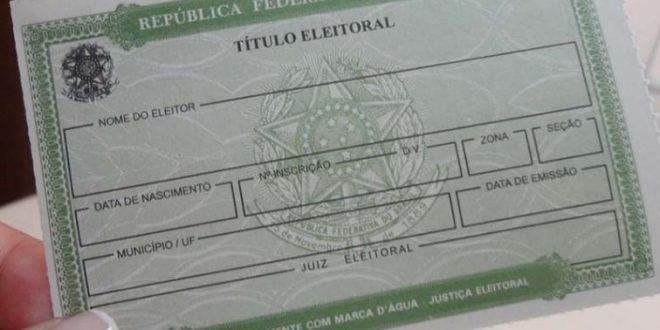 título.jpg 660x330 - Mais de 15,5 mil títulos eleitorais são cancelados na Paraíba, diz TSE