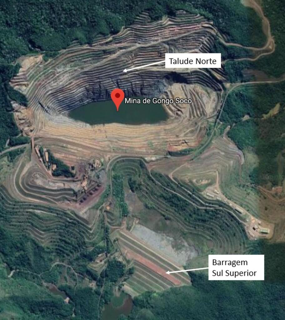 Barragem da mina do Vale em Barão de Cocais pode se romper a qualquer momento deste domingo