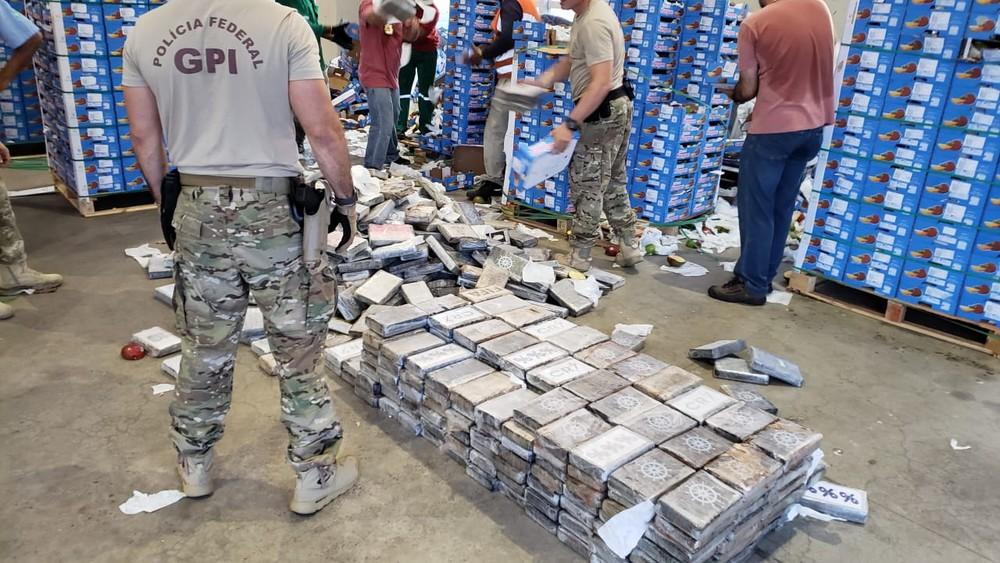 whatsapp image 2019 05 13 at 19.00.42 - TRÁFICO INTERNACIONAL: PF apreende 1 tonelada de cocaína em carga de mangas no porto de Natal