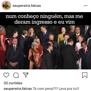 """035aab91 aa90 40f6 aeb8 6ef3f3e26680 300x300 - Cantor paraibano ironiza """"isolamento"""" de Bolsonaro no G20"""