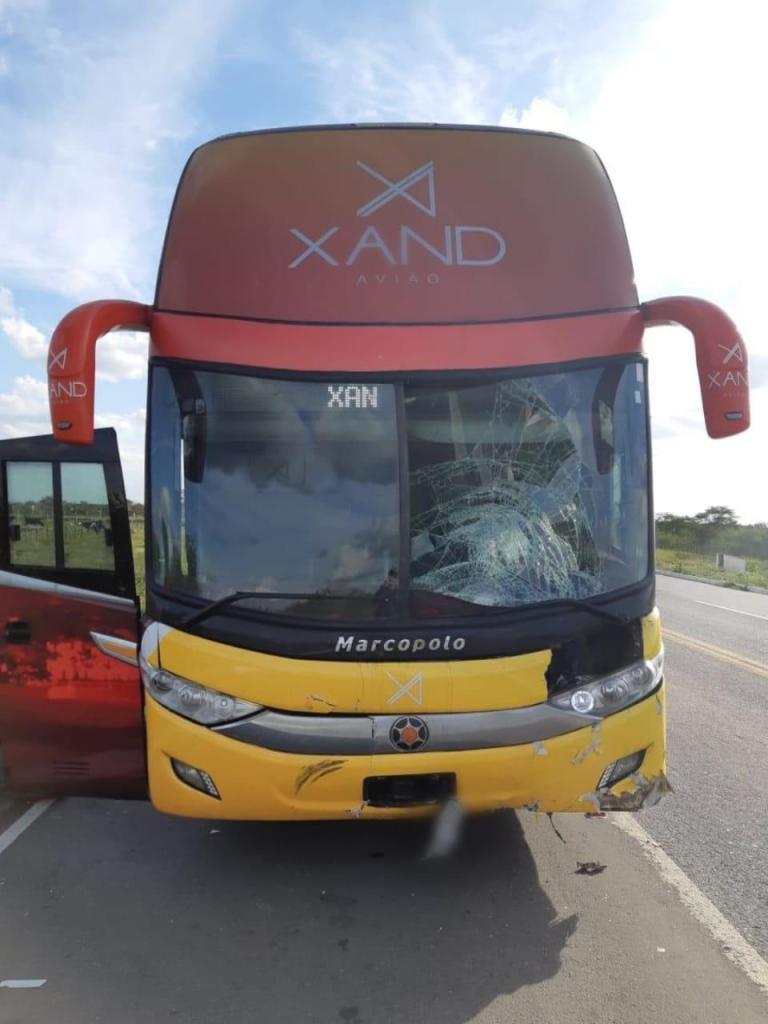 0497d6b0 fc50 47e4 9609 0fe3210d8287 768x1024 - Motociclista morre após bater em ônibus da banda Aviões do Forró