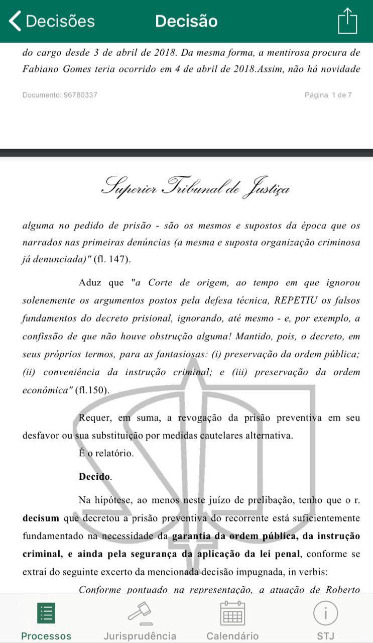 09b2a8a9 3d94 43a3 89b3 98094114152a - EXCLUSIVO: Felix Fischer julga recurso de habeas corpus de Roberto Santiago, preso da Xeque Mate; saiba o resultado
