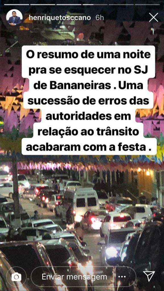 0c4df113 b1b3 4d25 888b c2e716c53e90 577x1024 - Advogado Henrique Toscano critica a festa de São João da cidade de Bananeiras