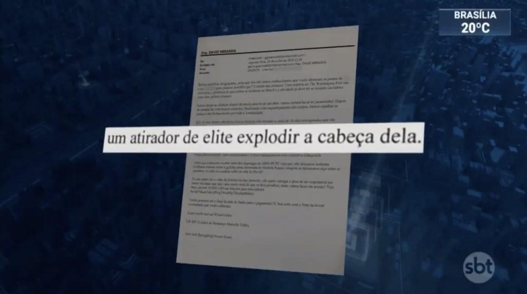 12779540 8d14 11e9 aecf 110686688451 1024x572 - Marido de coautor da reportagem sobre Moro, deputado David Miranda recebe ameaça de morte - VEJA VÍDEO