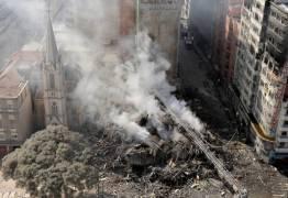 Líderes 'sem teto' são detidos por cobrança ilegal de aluguéis em prédio que desabou em SP